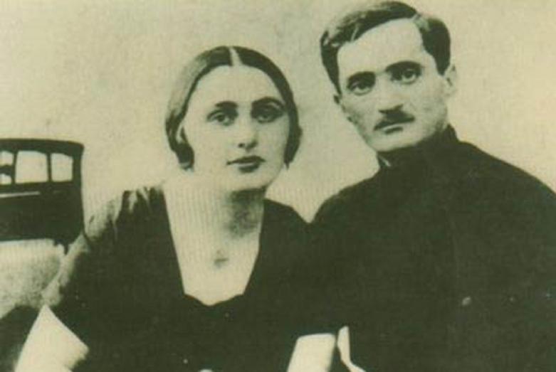 Нестор и Сария Лакоба, 1921-1922 годы
