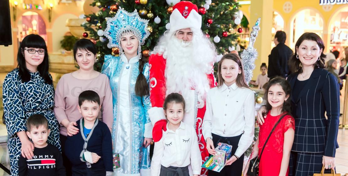 Дети подготовили новогодние стихи и песни