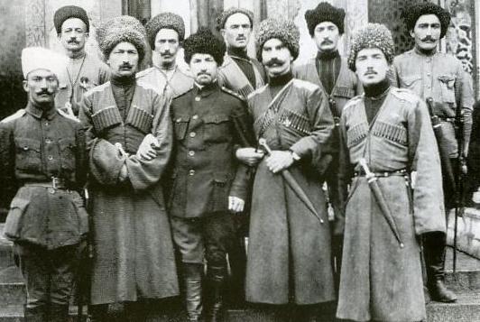 Генерал Корнилов и горцы дикой дивизии