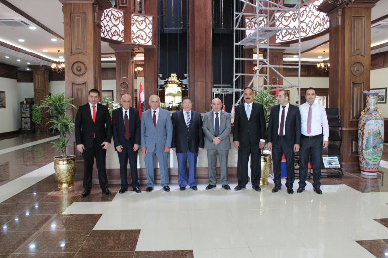 Визит делегации ТПП Абхазии в Эрбиль, Иракский Курдистан. Июль 2015 года