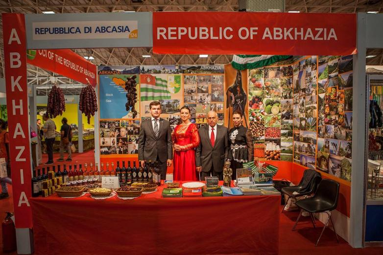 На Международной выставке Fiera del Levante в Бари, Италия,сентябрь 2015 года