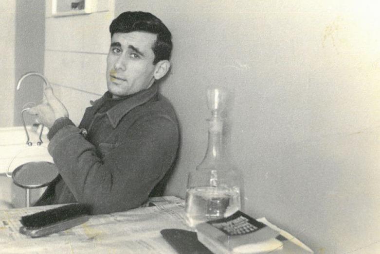 Геннадий Гагулия в студенческие годы в Минске