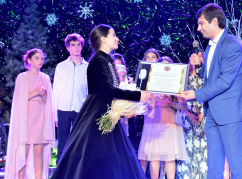"""WAC awarded a special prize to a young performer at the """"Orpheus"""" competition."""