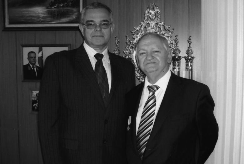 استقبال السفير الروسي الأول في أبخازيا سيميون غريغورييف