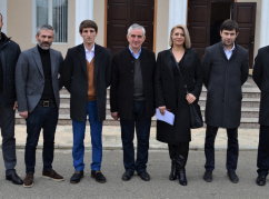 A new local branch of the WAC was created at a meeting in the Gal district of Abkhazia