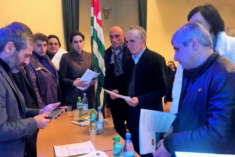 DAK temsilcilerinin, Gal halkı ile yaptığı toplantıda Kongre'nin yeni yerel şubesi kuruldu.