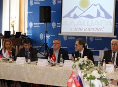 مسائل الحفاظ على اللغة الأبازينية وتطويرها خلال اجتماع في تشيركيسك