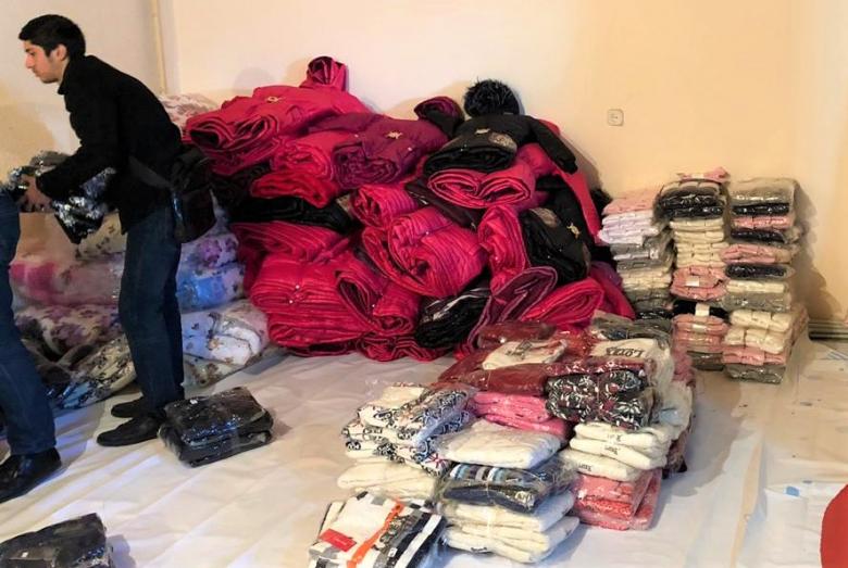 في إطار المرحلة الثانية من الفعالية وصلت الى ابخازيا  1120 مجموعة من الالبسة الشتوية،  و 1008 زوج حذاء وجوارب،  وكذلك 200 بطانية شتوية.