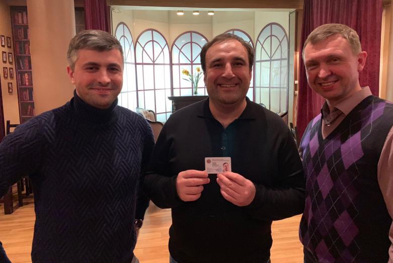 Чемпион Высшей лиги КВН, актер и режиссер Тимур Тания стал членом ВААК