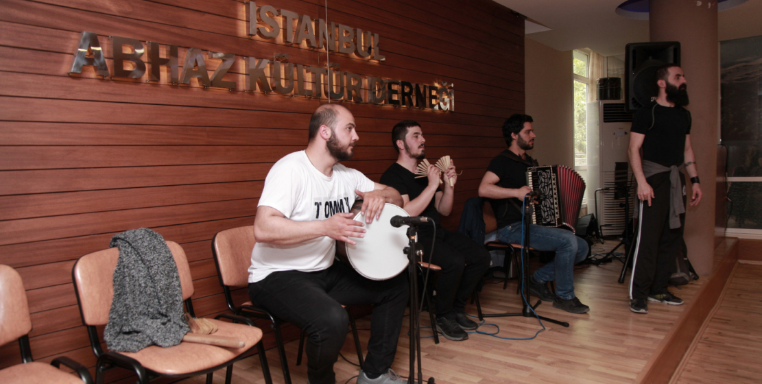The Abkhaz cultural center in Istanbul is the place of consolidation of Abkhazians and Abazins. There are meetings and lessons of Abkhazian language, two choreographic ensembles: children's ensemble