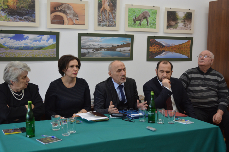 "Presentation of the project: ""Abkhazia. History, culture, modernity"" took place in Maykop"