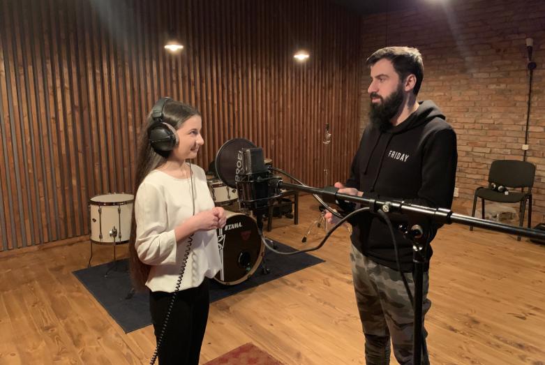 Анри Гумба и Саида Азизова запишут новую песню на абхазском языке