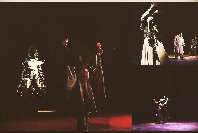Спектакль «Красная скала Анадзара» в постановке режиссера Эльдара Агачева