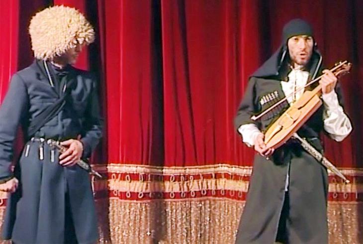 Спектакль «Гошегаг» по одноименной пьесе Ларисы Шебзуховой