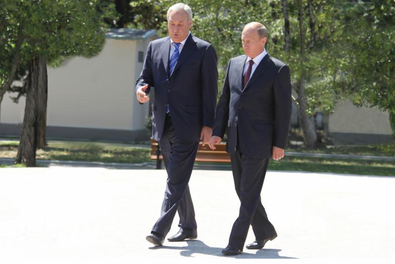 С премьер-министром России Владимиром Путиным