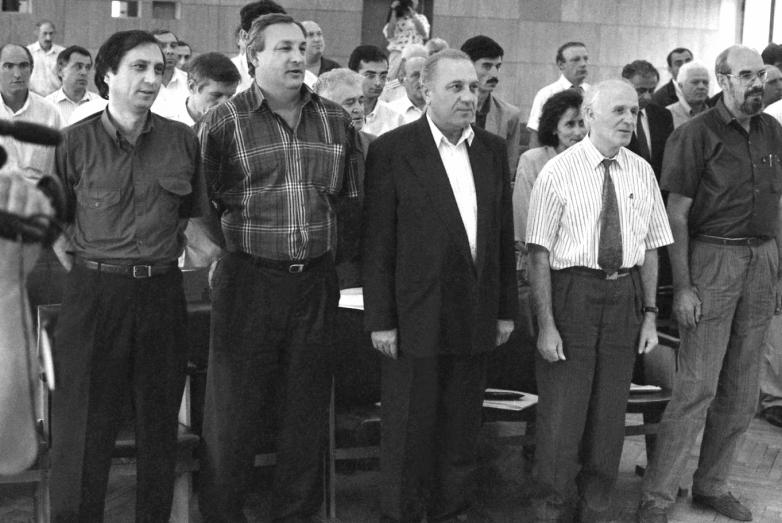 Сергей Багапш с депутатами «золотого» Парламента Абхазии