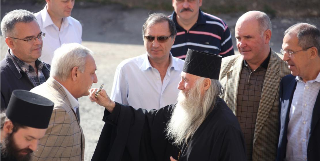 С иереем Виссарионом (Аплиа)