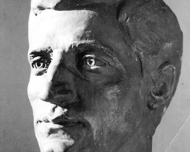 Аскульптура «Ефрем Ешба». Автор Марина Ешба