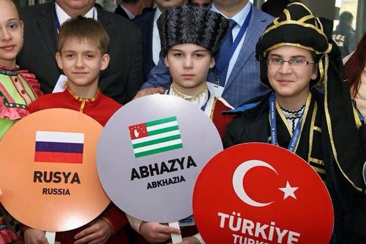 Официальное участие абхазской делегации в праздничных мероприятиях в Турции в День национального суверенитета и детей, 23 апреля 2015 года