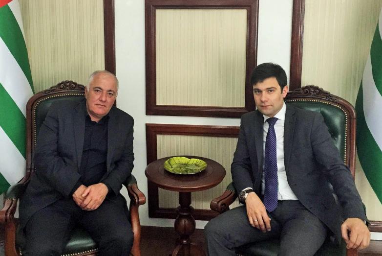 Вадим Харазия и Инар Гицба