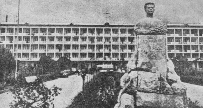Аҟәа, асасааирҭа «Тбилиси» аҿаԥхьа Иуа Коӷониа ибаҟа, 1966 шықәса
