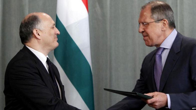 С министром иностранных дел России Сергеем Лавровым