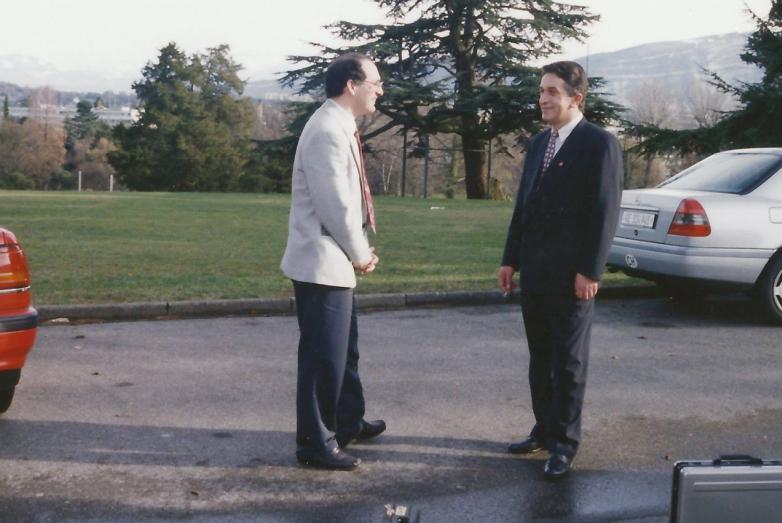 Владислав Арӡынбеи иареи, Женева, 1994 шықәса