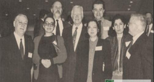 Юрий и Октябрина Калмыковы на международной конференции в Атланте (США), 1993 год