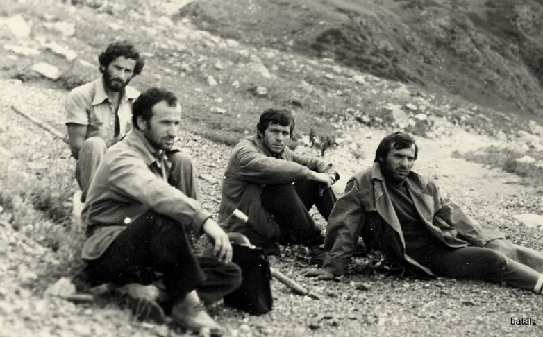 Мушни Хварцкия во время археологической экспедиции