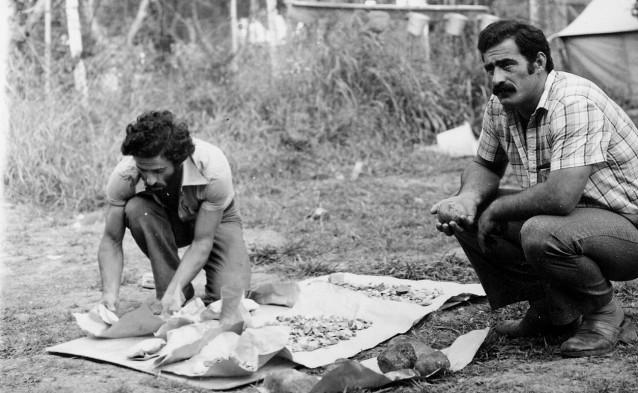 Мушни Хварцкия, Бомборская археологическая экспедиция, Гудаута, 1979 год