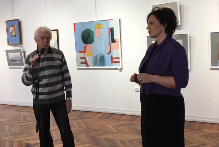 Ежегодная художественная «Весенняя выставка» открылась в Сухуме