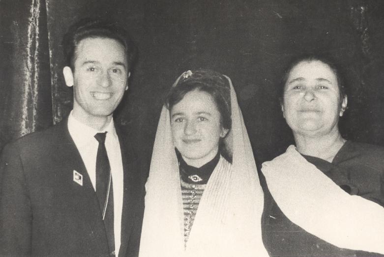 На свадьбе Гожевых, 1963 год