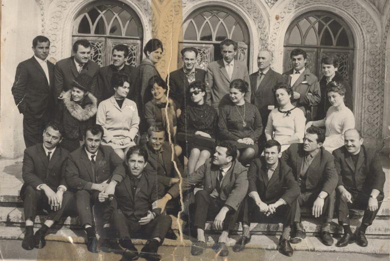 Труппа Абхазского государственного драматического театра, 1966 год