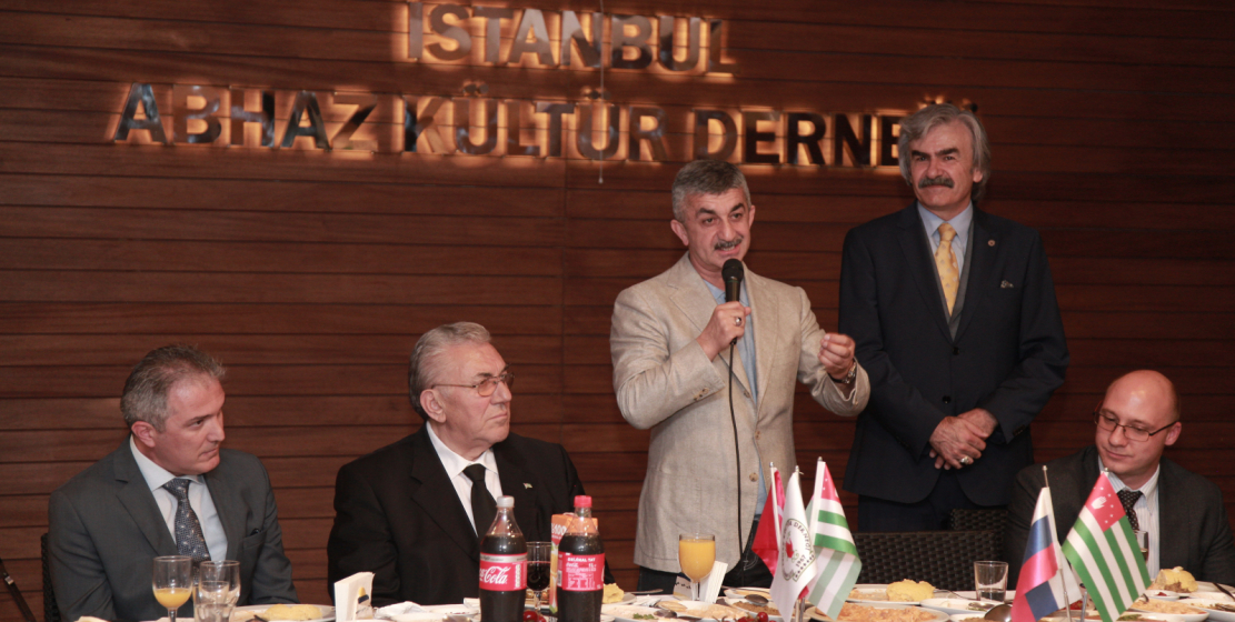 At the end of the visit, the head of the WAC visited the Abkhaz Cultural Center in Istanbul, where a festive dinner was organized in honor of the distinguished guest.