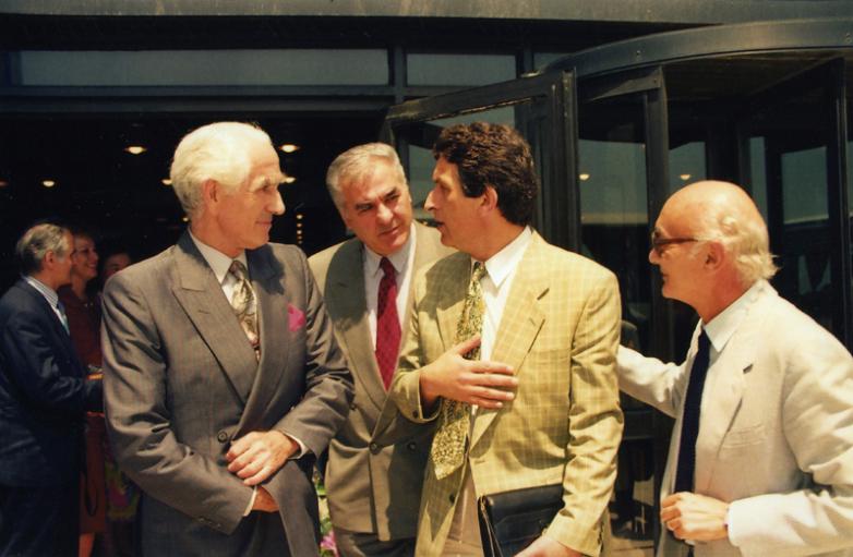 Джемалеттин Ардзинба, Ирфан Аргун, Владислав Ардзинба, Стамбул, июль 1992 года