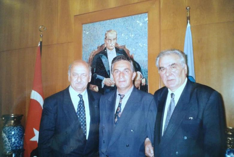 Ender Schenol, Vladislav Ardzinba, Irfan Argun, Istanbul © From the archive of Oktay Chkotua