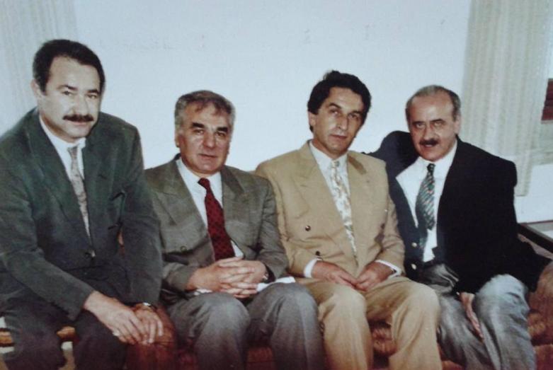 Cengiz Gogua, Irfan Argun, Vladislav Ardzinba, Atai Atzushba, Istanbul, July 1992