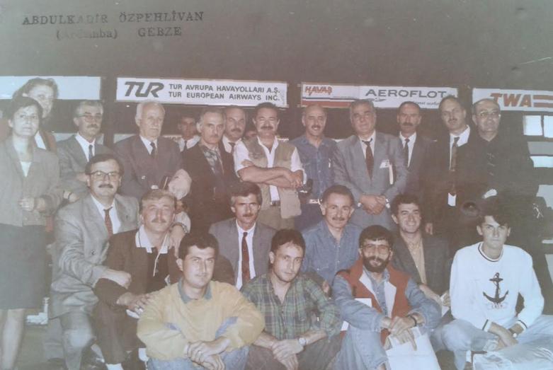 Делегаты Первого съезда абхазо-абазинского народа селе Лыхны октябрь 1992 года