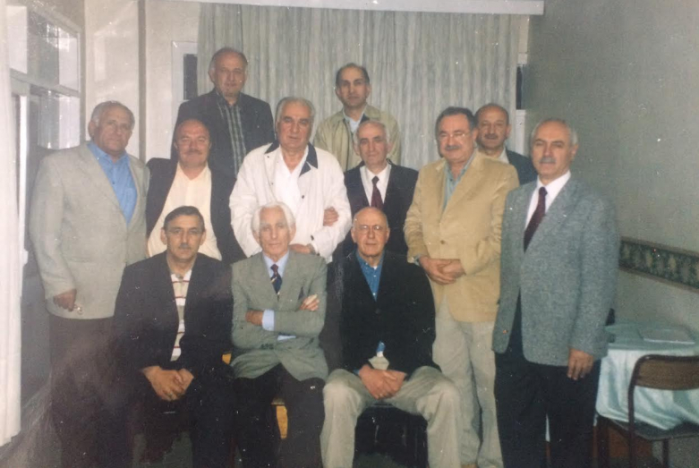 From left to right: top row - Cihan Atsveyba, Esat Akhba; middle row - Vladimir Avidzba, Oktay Chkotua, Irfan Argun, Temur Achugba, Jumhur Bal, Cengiz Gogua, Regen Agrba; bottom row - Givi Dopua, Jamalettin Ardzinba, Atai Atsushba