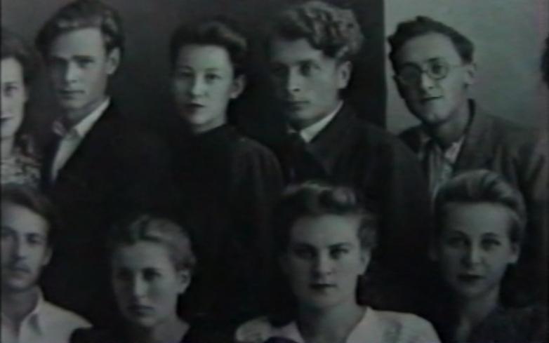 Назир Экба в студенческие годы