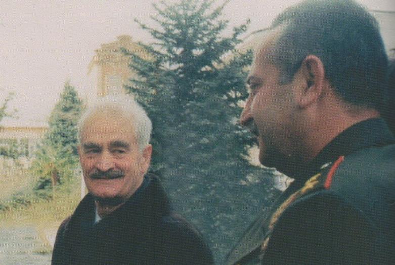 Sultan Sosnaliev with Vladimir Arshba