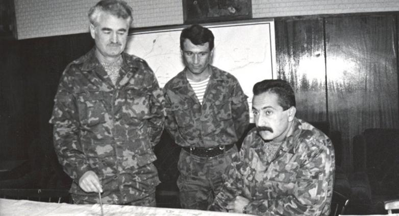 Султан Сосналиев с Владимиром Аршба, 1992 год