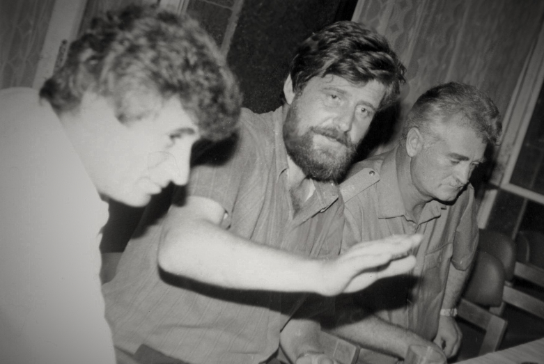 From left to right: Sergey Matosyan, Ruslan Kishmaria, Sultan Sosnaliev, 1994