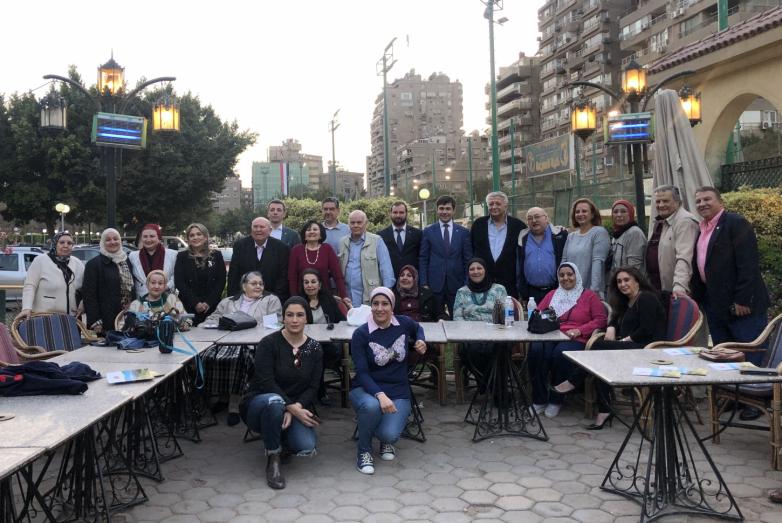 Делегация ВААК находится в Египте с рабочим визитом