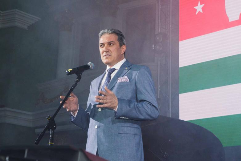 Гостем 60-летнего юбилея МАД был Председатель Федерации абхазских культурных центров в Турции Атанур Акусба.