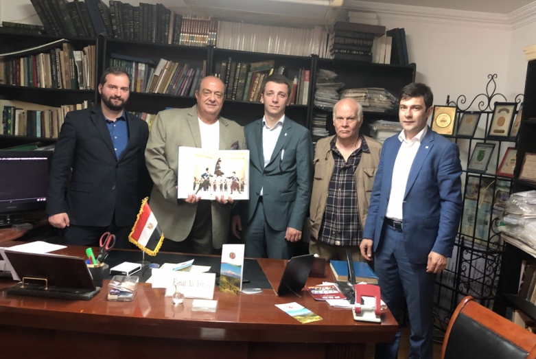 WAC and the Foundation for the Development of Culture and Art of Egypt discussed cooperation