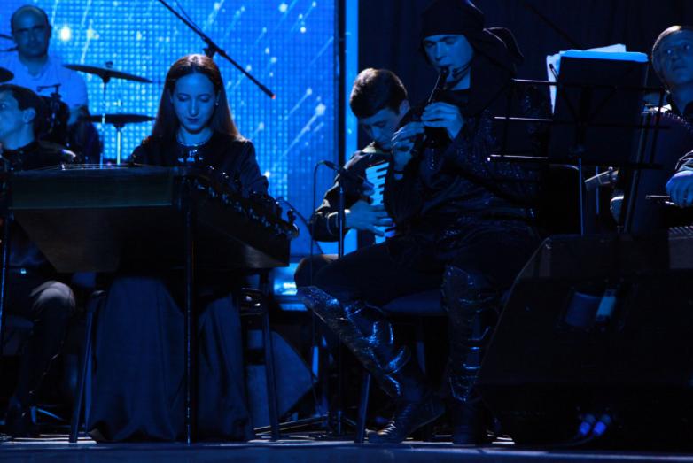 Благотворительный концерт оркестра имени Отара Хунцария прошел в Сухуме