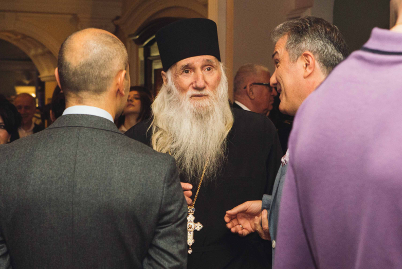 Chairman of the Church Council of the Abkhazian Orthodox Church, Priest Vissarion Aplia participated in the celebrations in honor of the 60th anniversary of the MAD.