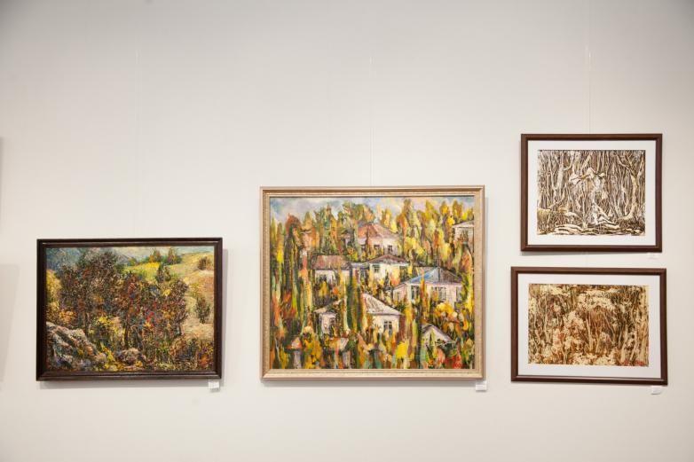 Выставка известного абхазского художника Заура Мукба открылась в Сухуме