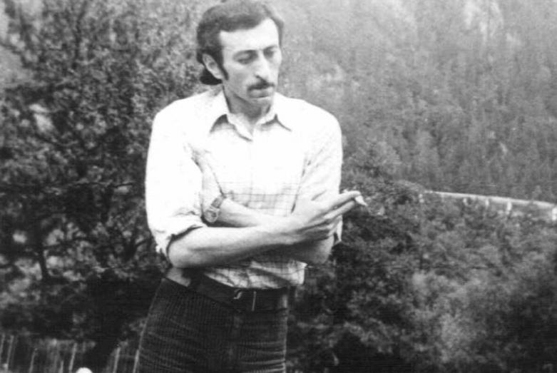 Керим Мхце в Теберде, 1979 год